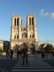 Next we went on to see some of the treasures that Paris has to offer, like the Notre Dame Cathedral..