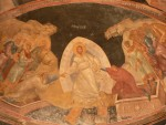 One of the many beautiful frescos in the Chora church