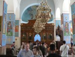 We stopped enroute at the town of Madaba and visited some churches with beautiful tile mosaics.
