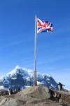 Britain, Chile, and Argentina all lay claim to the Antarctic Peninsula.