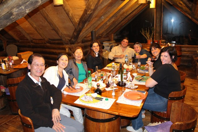 After our tour was over we had a fantastic Argentine steak dinner.