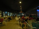 There was a nice shisha bar right on the Corniche with excellent fruit juices.