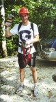 Later on that day we took a zipline tour of the jungle canopy.