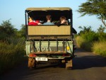 Afrikaaners on a guided safari