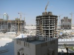 This was the view from my hotel room at the 4 Seasons in Doha.  As you can see, they are in the process of constructing a whole new area of the city.  From a single nearby vantage point I believe that I could count 13 highrises under construction.
