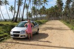 We arrived in Santo Domingo in the Dominican Republic in the early afternoon on Friday, rented a car and drove two hours to the north coast, passing through the beautiful mountainous interior.