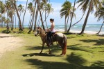 We took a little trip on horseback to explore a bit more of the coast.