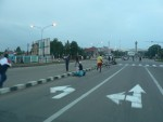 Early in the morning the streets of Addis were filled with men running and working out.  Haile Gebrselassie is a celebrity here, he even has a major boulevard named after him.