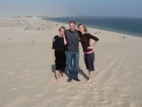 Highlight for album: Doha, Qatar: Mom, Dad and Julie visit