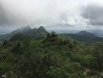 The view on the way up of the mountains, valleys and ocean were stunning!