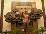"""""""Uncle Ho's"""" statue at his nearby museum."""