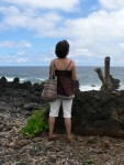 Today we drove the Road to Hana.  The road is only 52 miles, but it has 46 one lane bridges and over 600 curves.