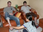 You can get an hour long, wonderful foot massage in Ho Chi Minh for under $5.