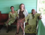 We visited Sister Nora and her granddaughter Sister Myra.  They live in the property adjacent to the church.
