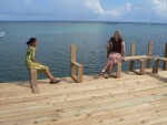 Sister Maira's family were finishing the reconstruction of a pier that had been destroyed in hurricane Mitch.