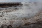 After we arrived we were told that Geysir no longer erupts regularly but nearby Strokkur is one of the most consistent geysers in the world, erupting every 4-8 minutes.