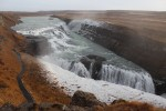 Just up the road from Geysir and Strokkur is the amazing Gullfoss waterfall.