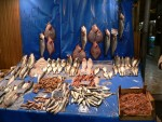 Fresh fish was widely available