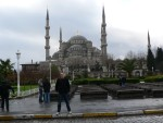 It was completed in 1616, built to rival the adjacent Haghia Sophia church.