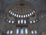 The Blue Mosque gets its name from these blue tiles.