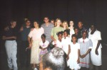 Dean, Doug and some of the Jamaican youth join us for a farewell group picture.