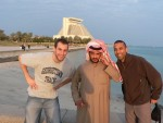 random drunken Qatari