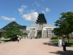 In my first day in Seoul I visited the Gyeongbokgung Palace near the Insadong area.