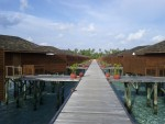 I wanted to treat myself, so I booked a place at the Meeru Island Resort in the Maldives, an island country in the Indian Ocean southwest of India.