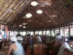Meals were included, so we ate buffet style in a large dining area.
