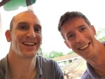 Wes and I have been good friends and crazy travelers for a while now but this was our first trip together. Pre-boat breakfast selfie!!