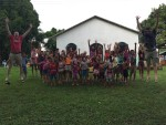 These children were so cute! They sang us a song and then we talked them into doing a jumping pic with us.