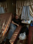 From Kiev we took an old soviet style train 14 hours to Chisinau, Moldova. We paid extra for the luxury cabin.