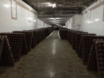 It is also housed in old limestone mines. Moldova used to be where all of the grapes from the USSR were shipped to be processed. Now it has a wealth of left over wine production infrastructure.