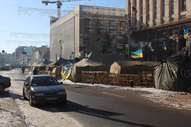 """When asked what we should do in Kiev, our cabbie told us to """"Go to Maidan and Fight, Fight, Fight!!"""""""