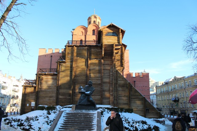 Kiev is an very impressive city, I'd like to visit again when things have calmed down a bit.