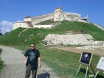 We took the morning to go and check out a couple of castles.  Our first stop was to see the Rasnov Citadel.