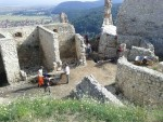 Excavations were ongoing at the citadel as part of a larger restoration effort.