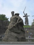 There is a huge memorial commemorating the battle.