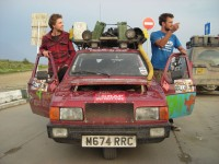 Highlight for album: Mongol Rally 2011 - Russia and Kazakhstan