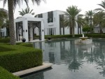The Chedi is a 5 star hotel located in Muscat, Oman.
