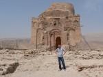 This is the tomb of Bibi Miriam, built around 700 AD.