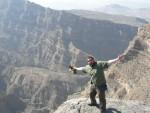 Jebel Shams is around 3,000m high.