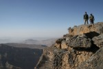It is the highest point in Oman and the whole of eastern Arabia.