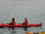 Melissa was my partner. Considering I was a kayaking rookie and also in charge of steering us through some challenging rows my friends were not so sure if either of us were going to survive..