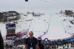 Our next event was the women's slopestyle snowboard prelim and final.