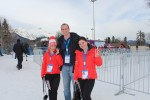 I caught a glimpse of the Belarus Olympic team and had to get a shot with them for my new friends back in Minsk.