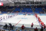 Our last event was the first round of mens Hockey at the Shayba Ice Arena.