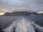 This morning I was scraping ice off of my car in DC, by the late afternoon I had landed in Basseterre, St Kitts and boarded a ferry over to the island of Nevis.