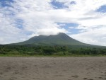 Nevis gets its name from the Spanish word for snow, which is what Christopher Columbus thought the clouds at the top of the mountain were.