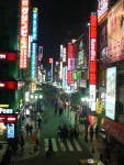 I stayed in the Shinjuku area of Tokyo, one of the hip happening hotspots.